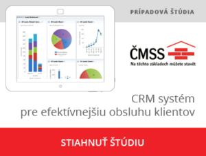 CRM systém pre ČMSS