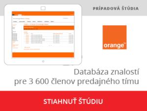 Portálové riešenie Knowledge management pre Orange