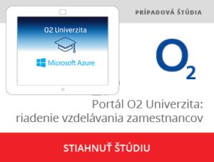 Portál na riadenie vzdelávania zamestnancov O2 Univerzita