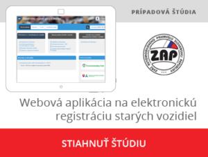 Webová aplikácia na elektronickú registráciu starých vozidiel pre ZAP