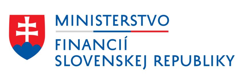Logo klienta Ministerstvo financií Slovenskej republiky