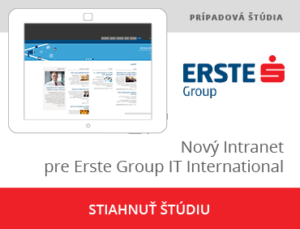 Intranet pre Erste Group
