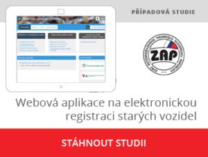 Elektronický register starých vozidiel pre ZAP SR