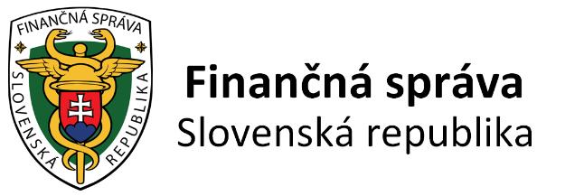 Finančná správa Slovenskej republiky logo