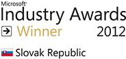 Microsoft Industry Awards Winner 2012 pre Millennium