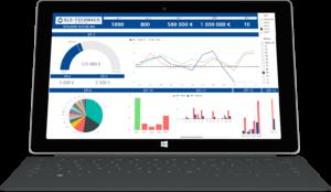 Analytické CRM na platforme Microsoft Power BI pre SLS-Technaco