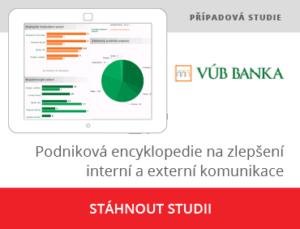 Podniková encyklopedie pro VUB banku jako plikace na zlepšení interni a externí komunikace