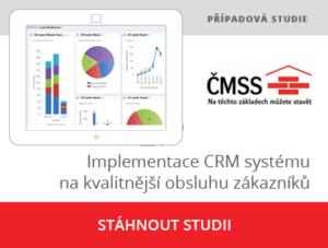 Implementace CRM pro ČMSS