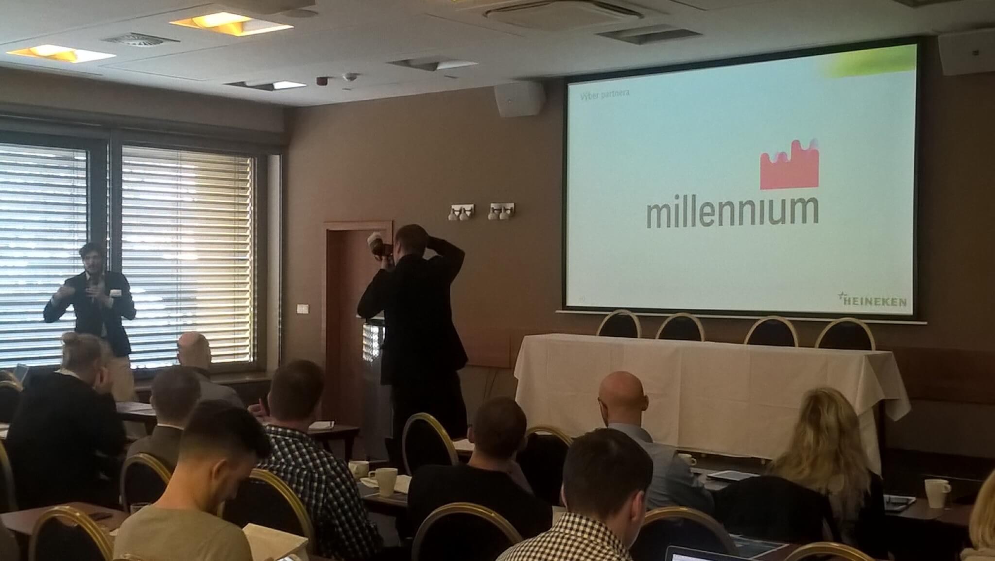 Heineken CRM online prezentácia na CRM konferencii
